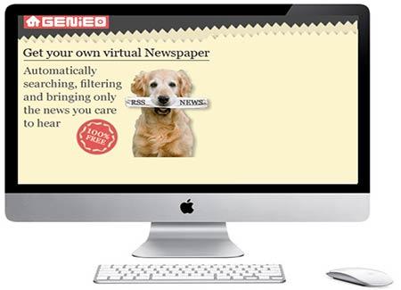 Genieo para personalizar páginas de inicio