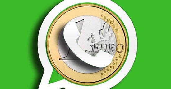 WhatsApp costará menos de un euro