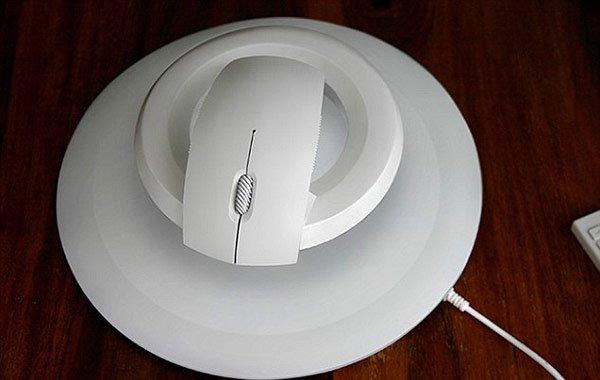 Diseñan el ratón que levita