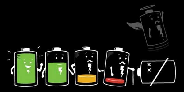 Duración de la batería del smartphone
