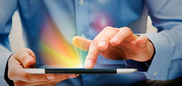 La conectividad del Tablet