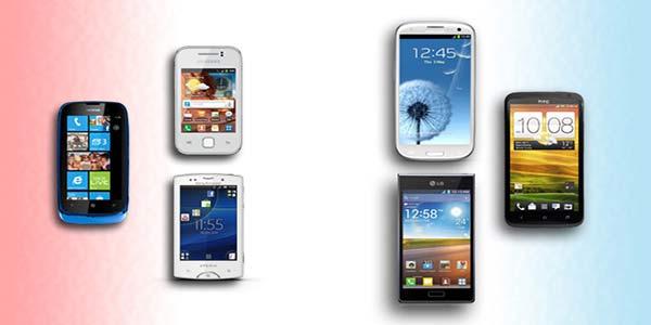El tamaño de pantalla perfecto de un smartphone