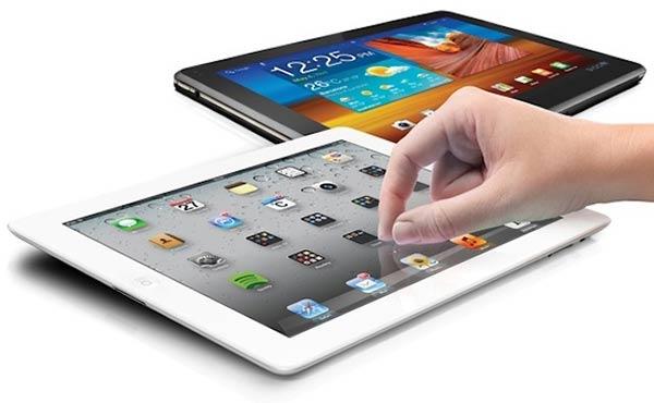 La pantalla del Tablet