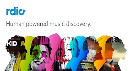 Las mejores aplicaciones para escuchar música en tu Android: Rdio