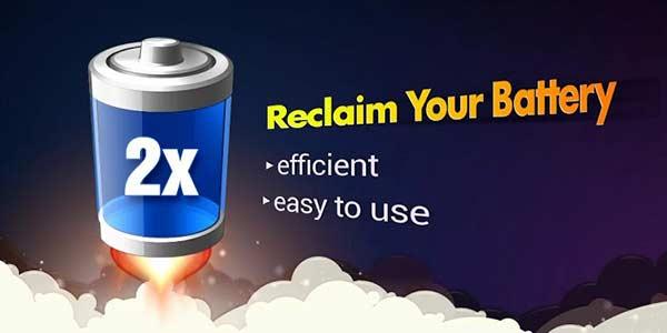 Aplicaciones para ahorrar batería - 2x Battery