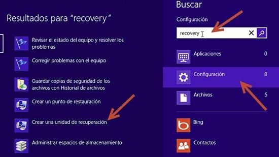 Cómo hacer copias de seguridad en Windows 8
