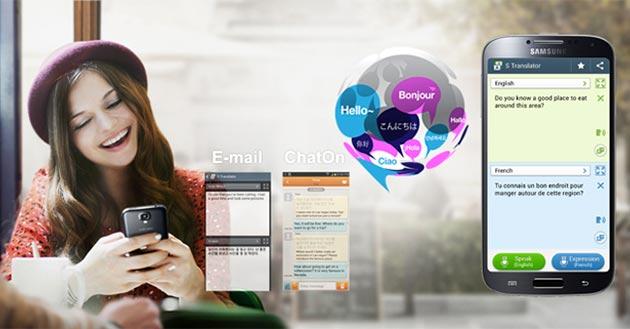 """Funciones Galaxy S4: Traductor incorporado """"S Translator"""""""