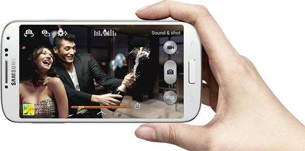 """Funciones Galaxy S4: Imagen y sonido """"Sound & Shot"""""""