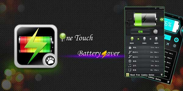 Aplicaciones para ahorrar batería - One Touch Battery Saver