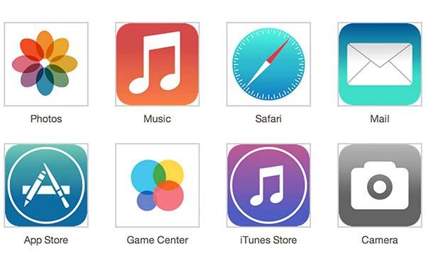 El nuevo diseño de iOS 7