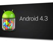 Nueva versión de Android 4.3