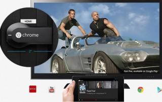 El último gadget de Google - ChromeCast para televisores