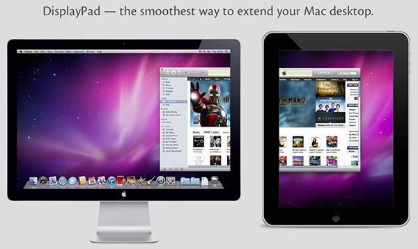 Utilizar un iPad como monitor secundario con DisplayPad