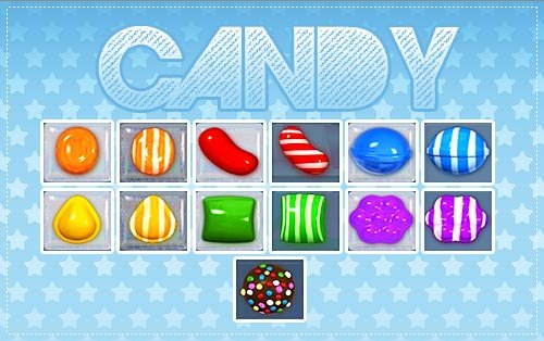 Caramelos Especiales en Candy Crush