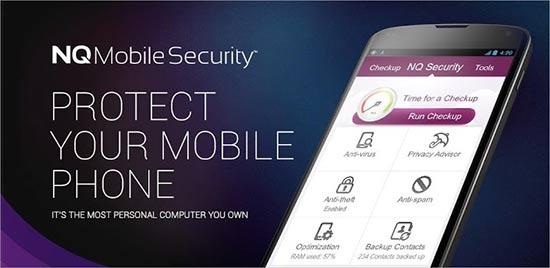 Apps para localizar móviles - NQ Mobile Secutiry