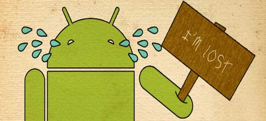 Apps para localizar móviles- Where is my Droid?