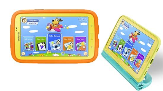 Tablet para niños - Samsung Galaxy Tab 3 Kids
