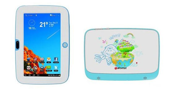 Tablet para niños - Woxter Tablet PC Sr. Nilson Lite