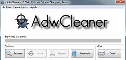 Eliminar Babylon Search y otros Adware con AdwCleaner