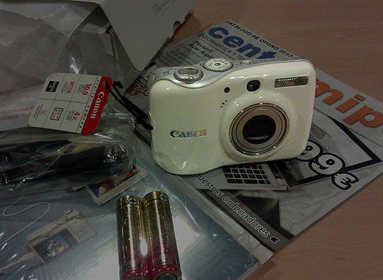 Sorteo Cámara Digital Canon desde CentroMiPc