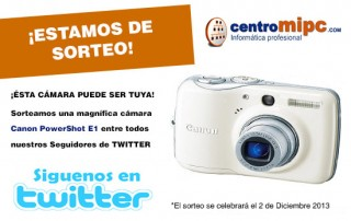 Gana una Cámara de Fotos Gratis con CentroMiPc